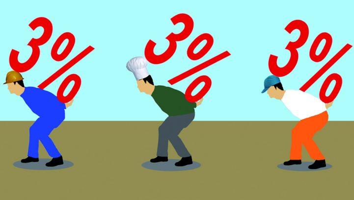 LA CUOTA DE AUTÓNOMOS SUBE UN 3% DESDE EL PRÓXIMO JULIO